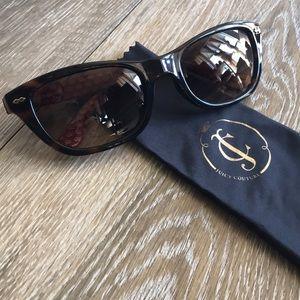 Juicy Couture Folding Wayfarer Sunglasses